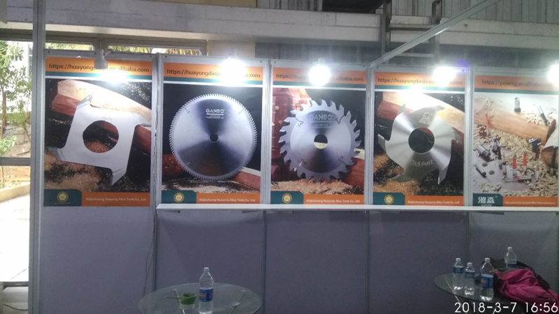 3Shijiazhuang huayong alloy tools co., LTD. Exhibition products.