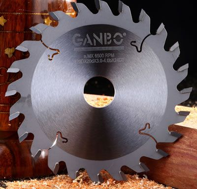 Scoring Carbide Tipped Circular Saw Blade With Big Cutting Wood Blades