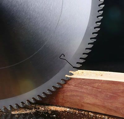 180mm -455mm 40 Tooth Tungsten Carbide Tipped Circular Saw Blades For Hard Wood