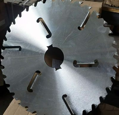 Tct Multi Circular Saw Blade With Rakers Carbide Tipped Ripping For Soft Wood