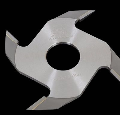 Standard 4 Wing Carbide Tipped Finger Joint Cutter For Saw Mill